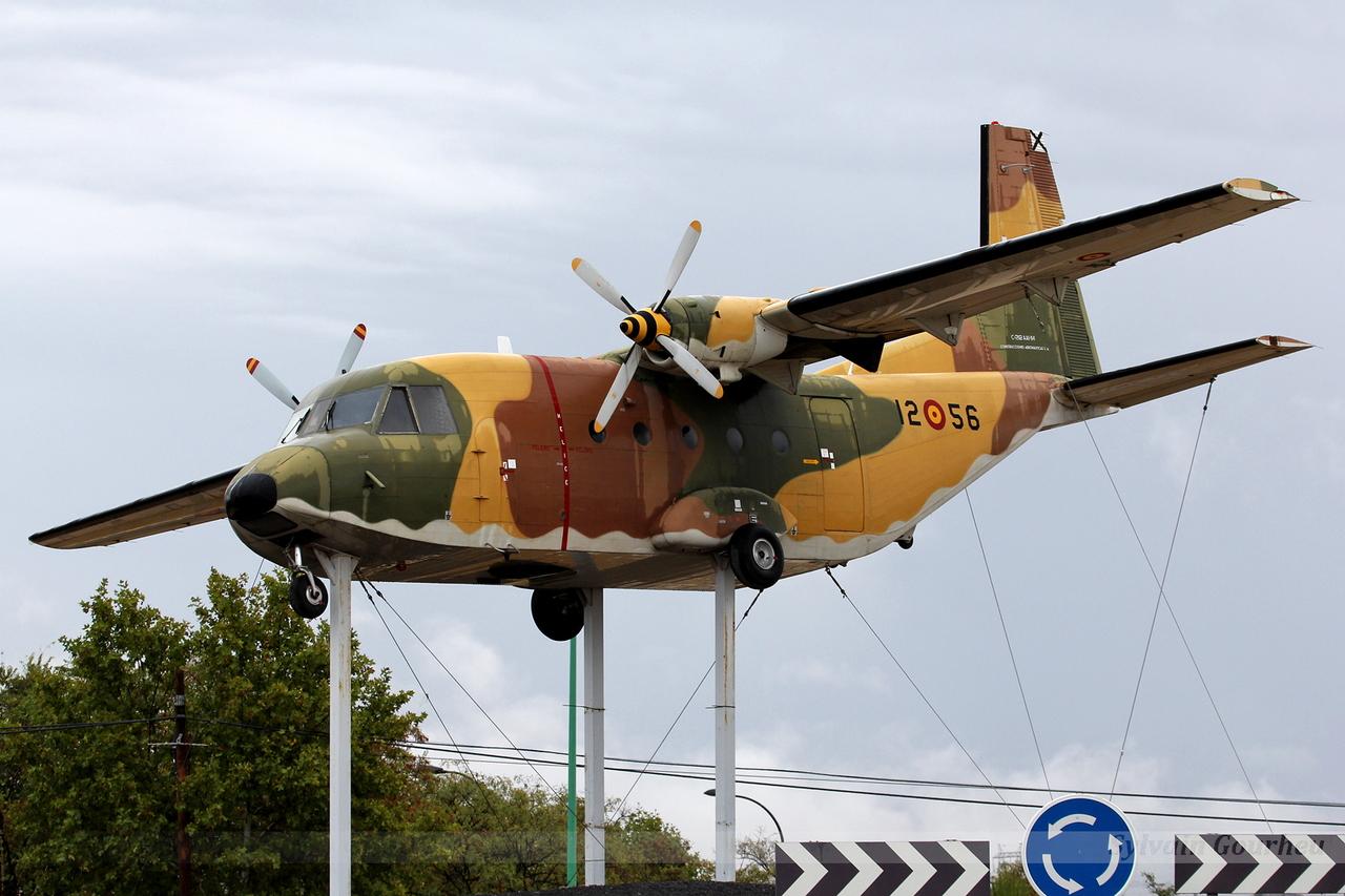 CASA C-212-100 Aviocar Spain Air Force T.12B-56 / 12-56