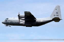 Lockheed C-130H Hercules Netherlands Air Force G-781
