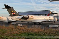 Canadair Regional Jet 200ER Air Uganda 5X-UGE