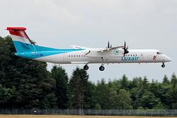 De Havilland Canada DHC-8-402Q Dash 8 Luxair LX-LGF