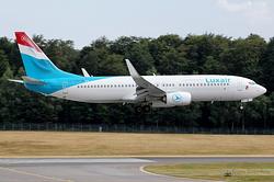 Boeing 737-8C9(WL) Luxair LX-LGV