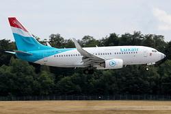 Boeing 737-7C9(WL) Luxair LX-LGS