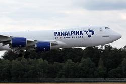 Boeing 747-87UF Atlas Air Panalpina N851GT