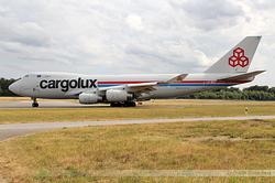 Boeing 747-4R7F Cargolux Airlines International LX-SCV
