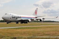 Boeing 747-4R7F Cargolux Airlines International LX-TCV