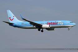 Boeing 737-8K5(WL) Jetairfly OO-JPT