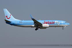 Boeing 737-8K5(WL) Jetairfly OO-JAD