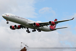 Airbus A340-642 Virgin Atlantic Airways G-YSSH