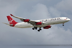 Airbus A340-313X Virgin Atlantic Airways G-VELD