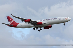 Airbus A340-313 Virgin Atlantic Airways G-VSUN