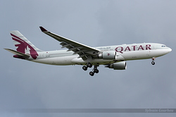 Airbus A330-203 Qatar Airways A7-ACE