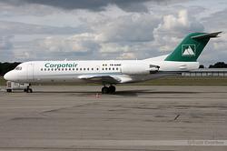 Fokker 70 Carpatair YR-KMB
