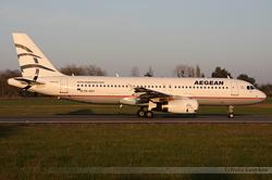 Airbus A320-232 Aegean Airlines SX-DVY