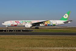 "Boeing 777-35E/ER EVA Air ""Hello Kitty"" B-16703"