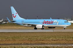 Boeing 737-8K5 Jetairfly OO-JAH