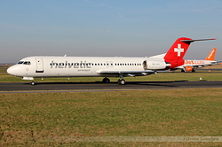Fokker 100 Helvetic Airways HB-JVH