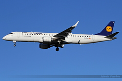 Embraer 190-200LR Augsburg Airways D-AEMD