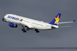 Airbus A330-343 Skymark Airlines JA330K / F-WWCS