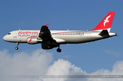 Airbus A320-214 Air Arabia Maroc CN-NMH