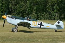 Hispano HA-1112-M1L Buchon G-BWUE