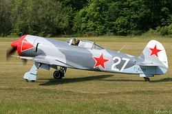 Yakovlev Yak-3U UTI-PW F-AZIM
