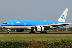 Boeing 777-206/ER KLM Royal Dutch Airlines PH-BQE
