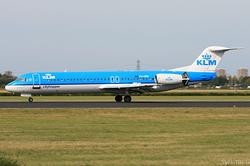 Fokker 100 KLM Cityhopper PH-OFN