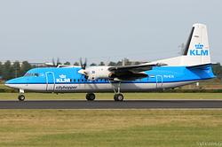 Fokker 50 KLM Cityhopper PH-KVI