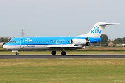 Fokker F70 KLM Cityhopper PH-KZG