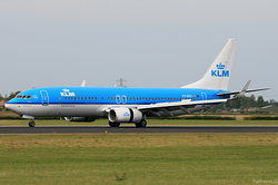 Boeing 737-8K2 KLM Royal Dutch Airlines PH-BGC