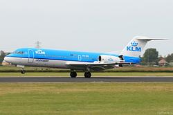 Fokker F70 KLM Cityhopper PH-JCH