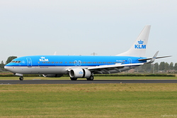 Boeing 737-8K2 KLM Royal Dutch Airlines PH-BGA