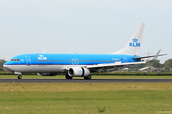 Boeing 737-8K2 KLM Royal Dutch Airlines PH-BXM