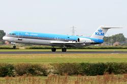 Fokker 100 KLM Cityhopper PH-KLI