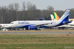 Airbus A320-232 IndiGo VT-IEB / D-AXAT