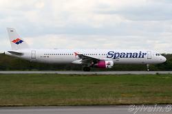 Airbus A321-231 Spanair EC-JNB