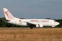 Boeing 737-5H3 Tunisair TS-IOH