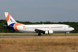 Boeing 737-31S Karthago Airlines TS-IEG