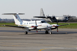 Beech Super King Air 200 Swiss Flight Services HB-GLB