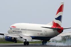 Boeing 737-528 British Airways G-GFFI