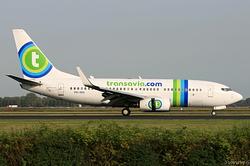 Boeing 737-7K2 Transavia Airlines PH-XRX