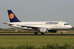 Airbus A319-114 Lufthansa D-AILT