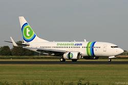 Boeing 737-7K2 Transavia Airlines PH-XRZ