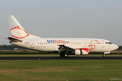 Boeing 737-59D bmibaby G-BVKD