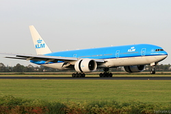 Boeing 777-206/ER KLM Royal Dutch Airlines PH-BQM