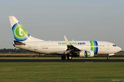 Boeing 737-7K2 Transavia Airlines PH-XRB