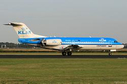 Fokker F70 KLM Cityhopper PH-KZL