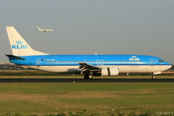 Boeing 737-406 KLM Royal Dutch Airlines PH-BTB
