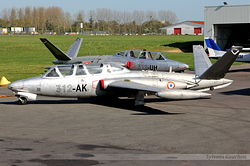 Fouga CM-170 Magister Yankee Delta 465 / 312-AK