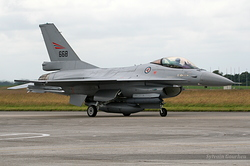 General Dynamics F-16AM Fighting Falcon Norway Air Force 668